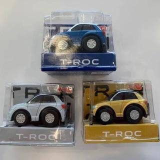 フォルクスワーゲン(Volkswagen)のフォルクスワーゲン T-Roc コンプリートセット 新品未使用非売品(ミニカー)