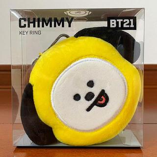 ボウダンショウネンダン(防弾少年団(BTS))の新品未使用 ♡ BT21 CHIMMY フェイスキーリング バッグチャーム(キャラクターグッズ)
