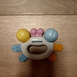 ミキハウス(mikihouse)のミキハウス  かにのおもちゃ(がらがら/ラトル)