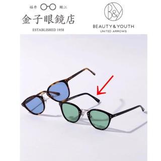 ビューティアンドユースユナイテッドアローズ(BEAUTY&YOUTH UNITED ARROWS)のKANEKO OPTICAL × B&Y『Smith』ボストン コンビ 金子眼鏡(サングラス/メガネ)