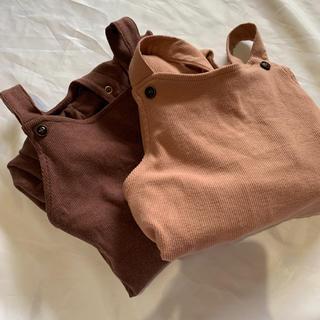 プティマイン(petit main)の★韓国子供服★コーデュロイオーバーオール (パンツ)