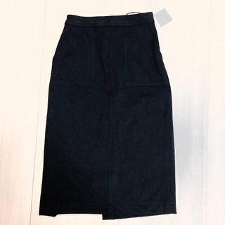 ハニーズ(HONEYS)のミモレ丈タイトスカート/black(ロングスカート)