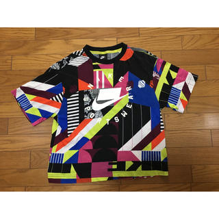 NIKE - 中古ナイキ総柄TシャツMクレイジーNIKE NSW