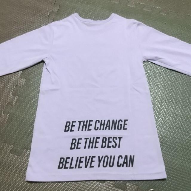 ANAP Kids(アナップキッズ)の【試着のみ】ANAP 長袖 キッズ/ベビー/マタニティのキッズ服女の子用(90cm~)(Tシャツ/カットソー)の商品写真