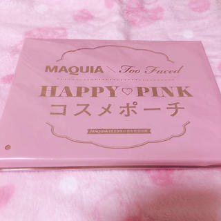Too Faced - TooFaced × MAQUIA HAPPY PINK♡ポーチ