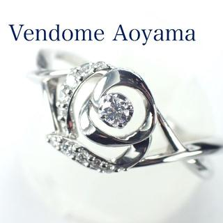 Vendome Aoyama - ヴァンドームアオヤマ ダイヤ Pt950 クリスティーヌ リング ローズ