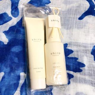 shiro - shiro ハンドセラム 美容液 シアバター サボン