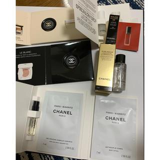 CHANEL - CHANEL 化粧品サンプル7点セット