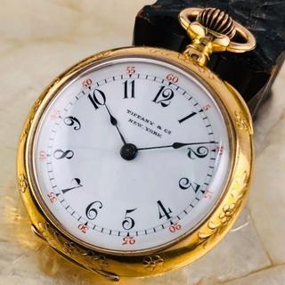 ティファニー(Tiffany & Co.)の★18K金無垢 【ティファニー】TIFFANY ペンダント 懐中時計 33㎜(腕時計)