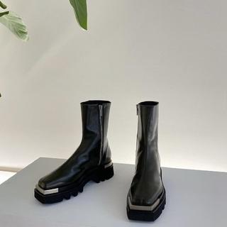 celine - peter do combat boots metal too