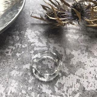 カスタネ(Kastane)のSALE!【CRG-11】twist clear ring(リング(指輪))