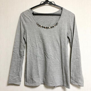 ハニーズ(HONEYS)のHoneys ビジュー付きTシャツ(Tシャツ(長袖/七分))