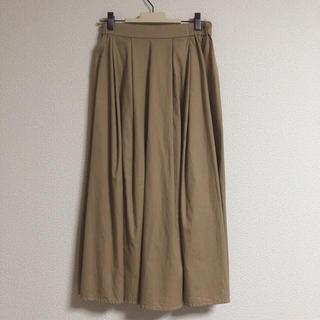 ハニーズ(HONEYS)の膝丈スカート チノスカート ベージュスカート(ひざ丈スカート)