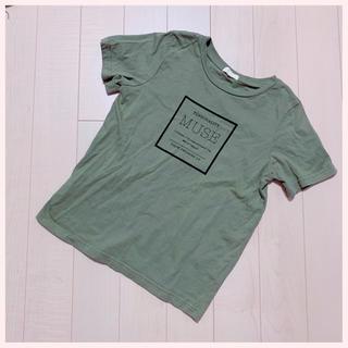 アースミュージックアンドエコロジー(earth music & ecology)のღ⭐︎★ earthカーキTシャツ(Tシャツ(半袖/袖なし))