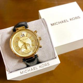 マイケルコース(Michael Kors)の【大特価‼︎】マイケルコース 腕時計 ゴールド×ブラック 秋 ハロウィン🎀(腕時計)