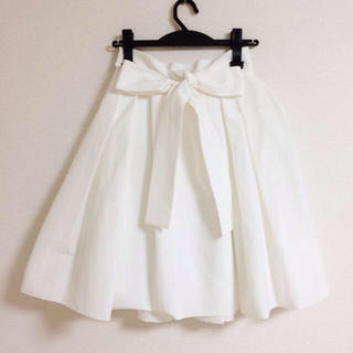 FRAY I.D - バックリボン♡メモリースカート
