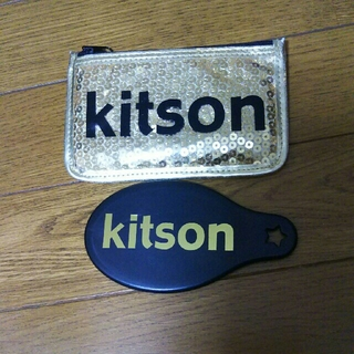 キットソン(KITSON)のkitsonケース付き手鏡(ミラー)