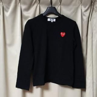 コムデギャルソン(COMME des GARCONS)の【美品】コムデギャルソン・PLAY     カットソー(Tシャツ(長袖/七分))
