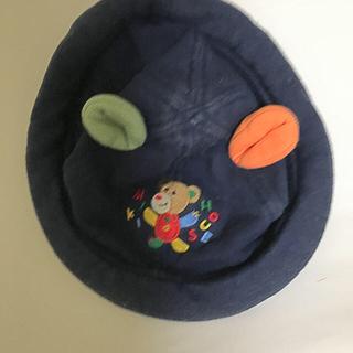ミキハウス(mikihouse)のミキハウスぼうし ミキハウスくま ミキハウスレトロ レア 耳つき帽子(帽子)