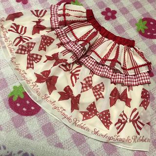 シャーリーテンプル(Shirley Temple)のシャーリーテンプル  リボン シフォン  スカート  130(スカート)