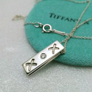 Tiffany & Co. - ティファニーネックレス 1P ダイア