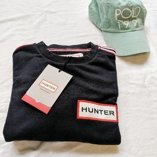 ハンター(HUNTER)のタグ付き【HUNTER】トレーナー L ブラック(スウェット)