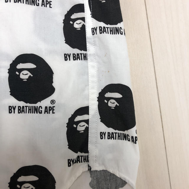 A BATHING APE(アベイシングエイプ)のBAPE ロゴマーク シャツ 【エイプ ベイプ アベイシングエイプ NIGO】 メンズのトップス(シャツ)の商品写真