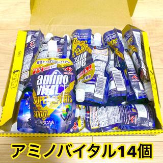 アジノモト(味の素)のアミノバイタル ゼリードリンク SUPER SPORTS 14個 セット(トレーニング用品)