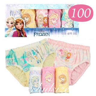 新品 キッズ 100 ショーツ アナ雪 パンツ アナと雪の女王