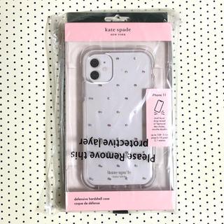 kate spade new york - ケイトスペード iPhone 11 Pin Dot 新品 未開封
