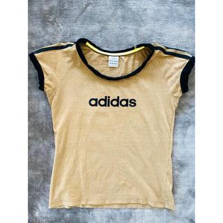 アディダス(adidas)のadidas アディダスロゴTシャツ 袖ライン(Tシャツ(半袖/袖なし))
