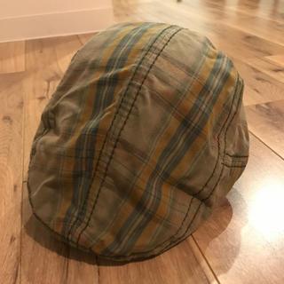 ギャップ(GAP)のGAP チェック柄 ハンチング 帽子(ハンチング/ベレー帽)