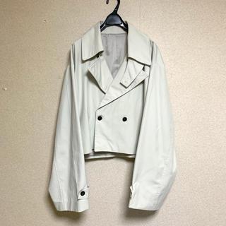 ドゥルカマラ(Dulcamara)のcropped trench jacket 韓国 トレンチジャケット(トレンチコート)