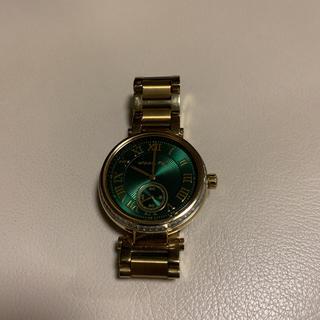 マイケルコース(Michael Kors)のマイケルコース 腕時計 ゴールド グリーン(腕時計)