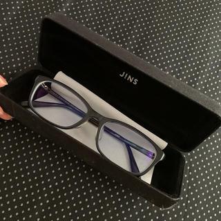ジンズ(JINS)のjinsメガネとケースセット(サングラス/メガネ)