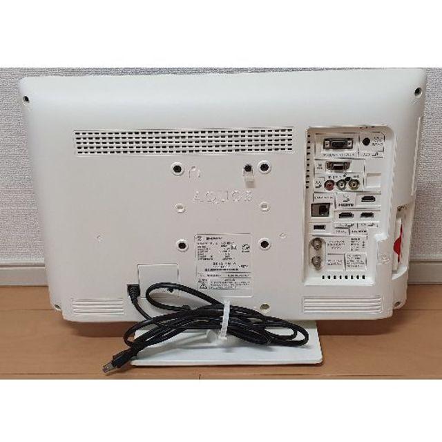 AQUOS(アクオス)のシャープ AQUOS 19型 液晶テレビ LC-19K7 スマホ/家電/カメラのテレビ/映像機器(テレビ)の商品写真