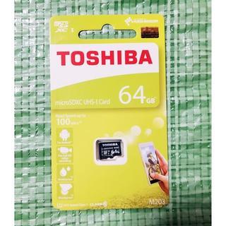 トウシバ(東芝)のmicroSDカード 64GB 東芝 TOSHIBA(その他)