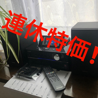 ソニー(SONY)の(美品) SONY HDDコンポ NAS-D55HD(アンプ)