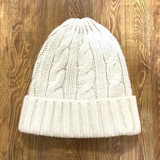 ユニクロ(UNIQLO)の美品 ユニクロ ヒートテック キッズニット帽(帽子)