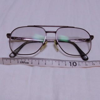 BURBERRY - 【正規品】BURBERRY メンズ 度入り メガネ  56□15-141