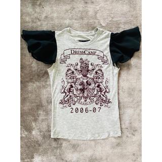 ドレスキャンプ(DRESSCAMP)のドレスキャンプ 肩袖シースルーデザインTシャツ(Tシャツ(半袖/袖なし))