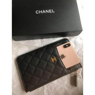 CHANEL - シャネルノベルティー ポーチ財布 カードケースマホケース財布