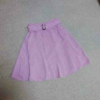 ミッシュマッシュ(MISCH MASCH)のミッシュマッシュ ベルト付きスカート♡(ひざ丈スカート)