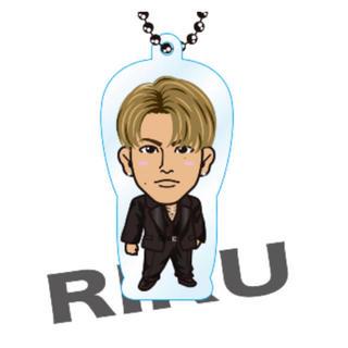 ザランページ(THE RAMPAGE)のINVISIBLE LOVE 真顔Ver./クリアチャーム/RIKU (その他)