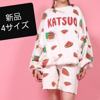 プニュズ(PUNYUS)の新品 カツオのタタキ パーカー4 KATSUO punyus スウェット(トレーナー/スウェット)