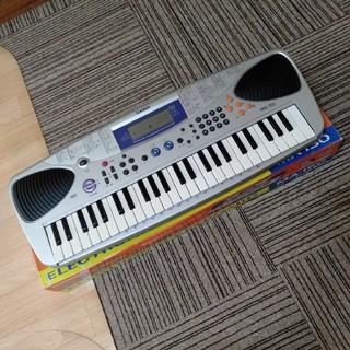 カシオ(CASIO)のCASIO キーボード MA-150 49盤 外箱 電源アダプター 説明書付き(キーボード/シンセサイザー)