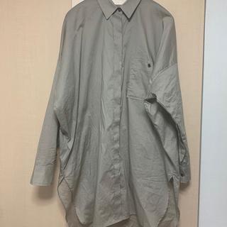 JEANASIS - JEANASIS 80コットンワイドBIGシャツLS