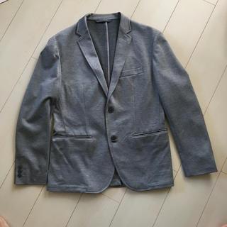 ムジルシリョウヒン(MUJI (無印良品))の無印良品 ソフトテーラードジャケット グレー(テーラードジャケット)