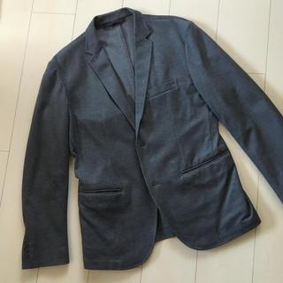 ムジルシリョウヒン(MUJI (無印良品))の無印良品 ソフトテーラードジャケット 濃いグレー(テーラードジャケット)