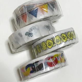 ミナペルホネン(mina perhonen)のミナペルホネン  exフラッグ   マスキングテープ4点セット mt(テープ/マスキングテープ)